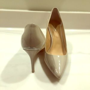 Beautiful Neutral Nude Colored Calvin Klein Heels